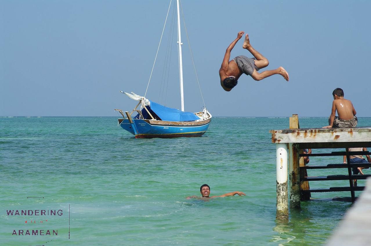 Airborne and acrobatic