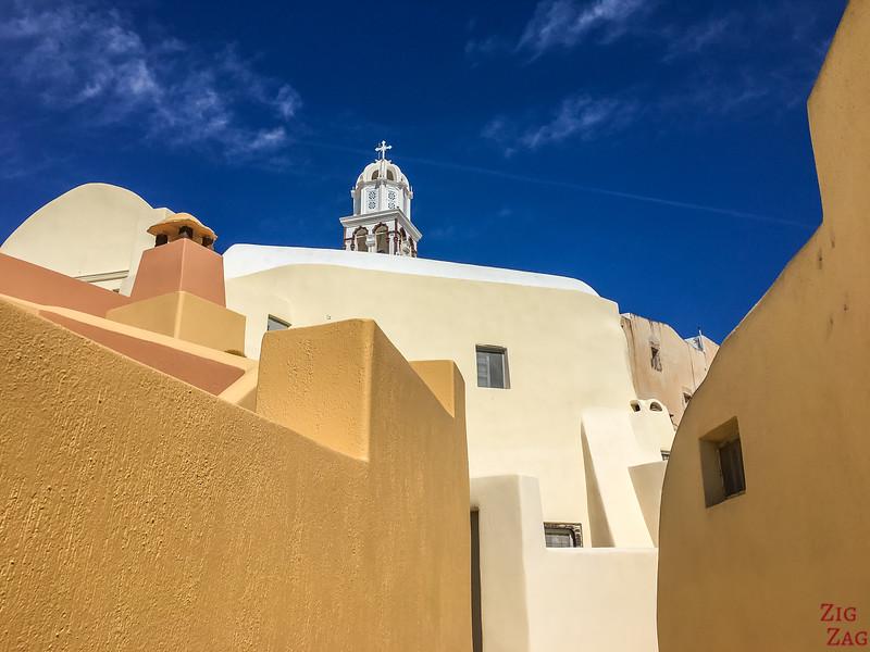 Les plus belles vues de Santorin en photos - Emporio