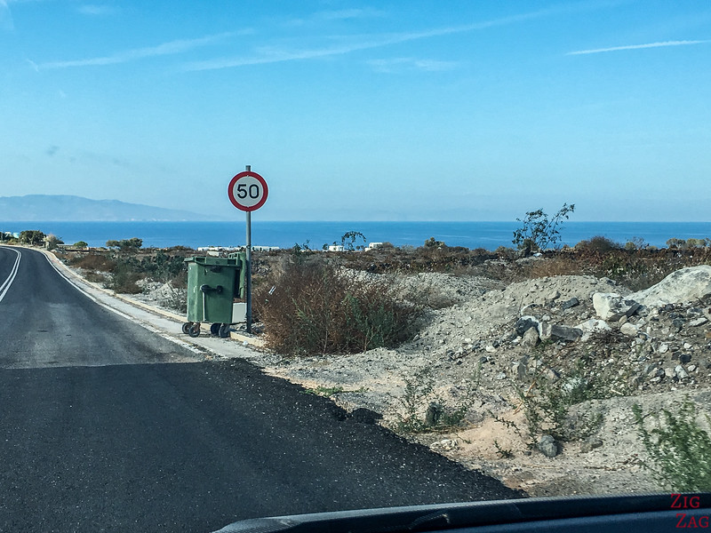 Santorini Driving Rules
