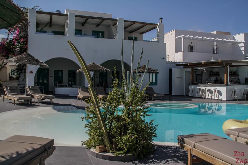 Hotel à Santorin