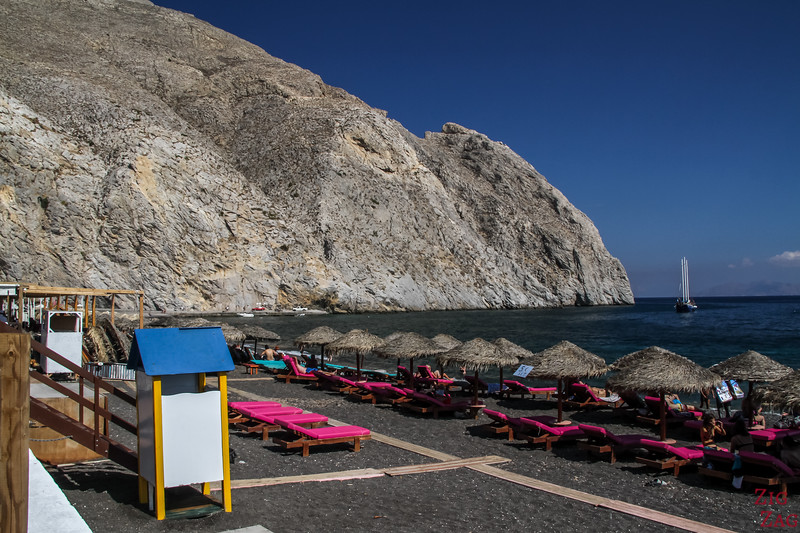best areas to stay in Santorini - beaches