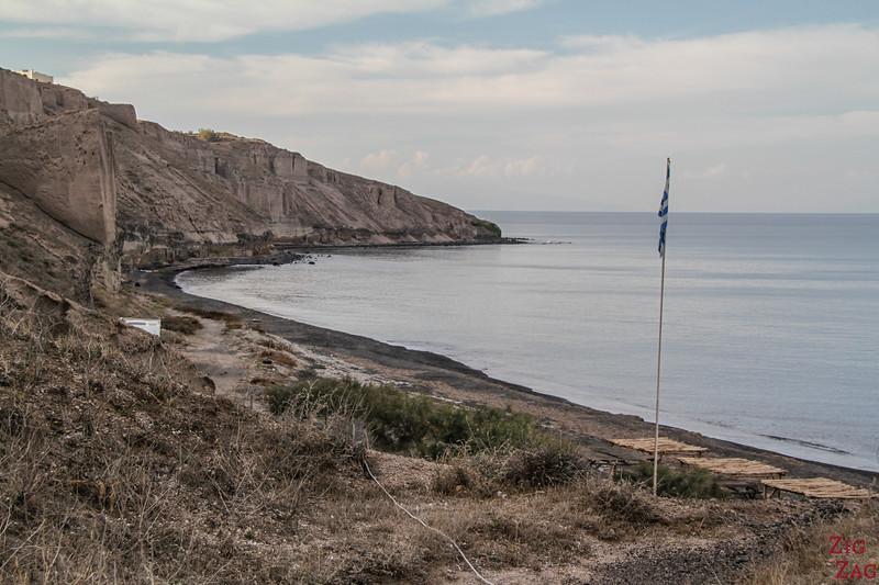 plage Santorin