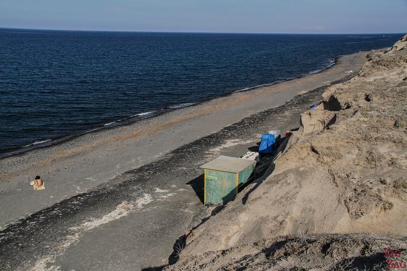 plage Santorin 2