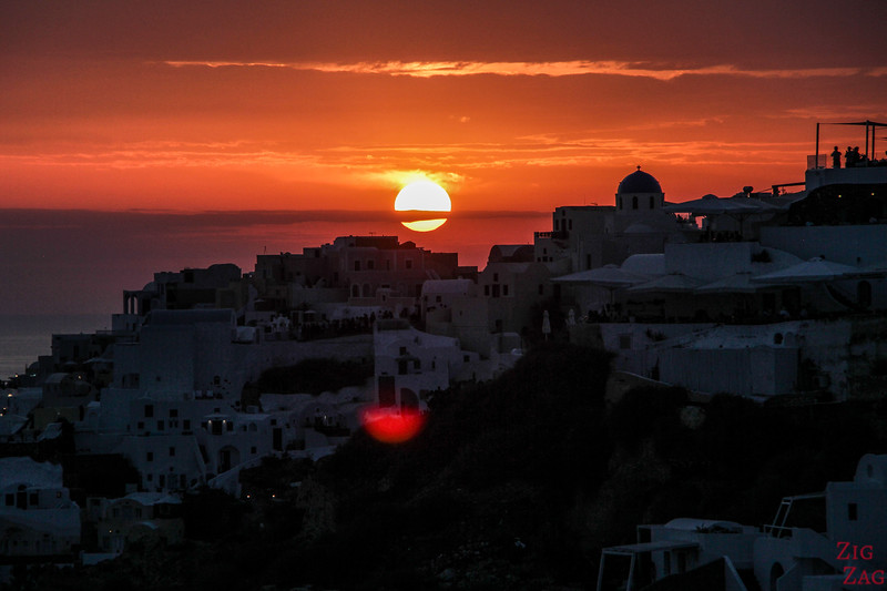 best things to do in Santorini - Oia sunset