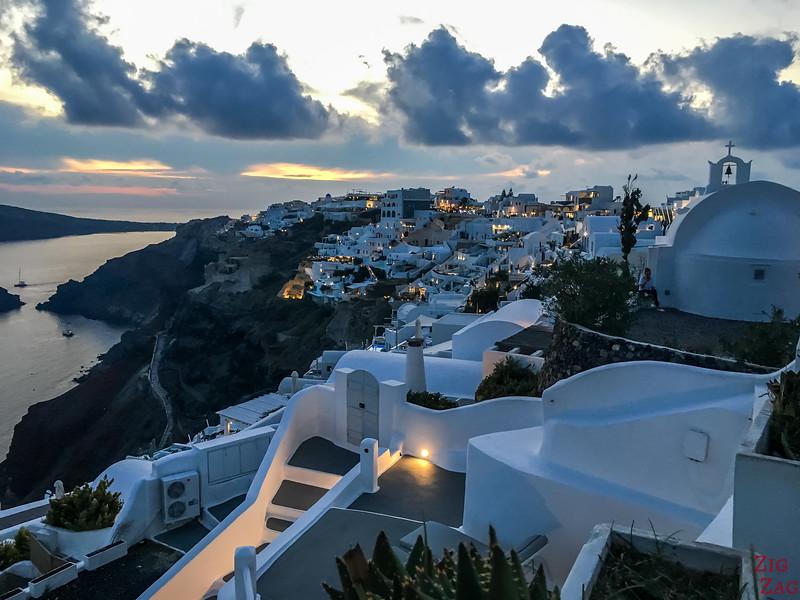 Les célèbres couchers de soleil de Santorin en photos 3