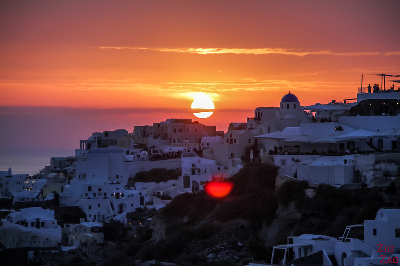 Oia Sunset viewpoint