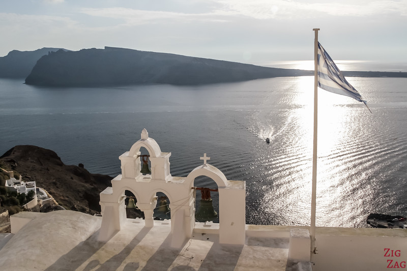 Santorin en photos - Les 4 cloches d Oia