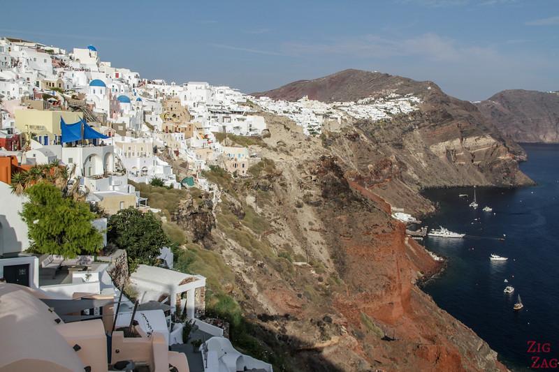 Les plus belles vues de Santorin en photos - Caldera 2