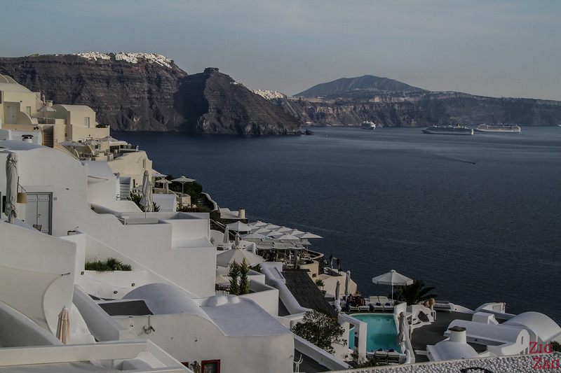 Where to stay in Santorini with view 2