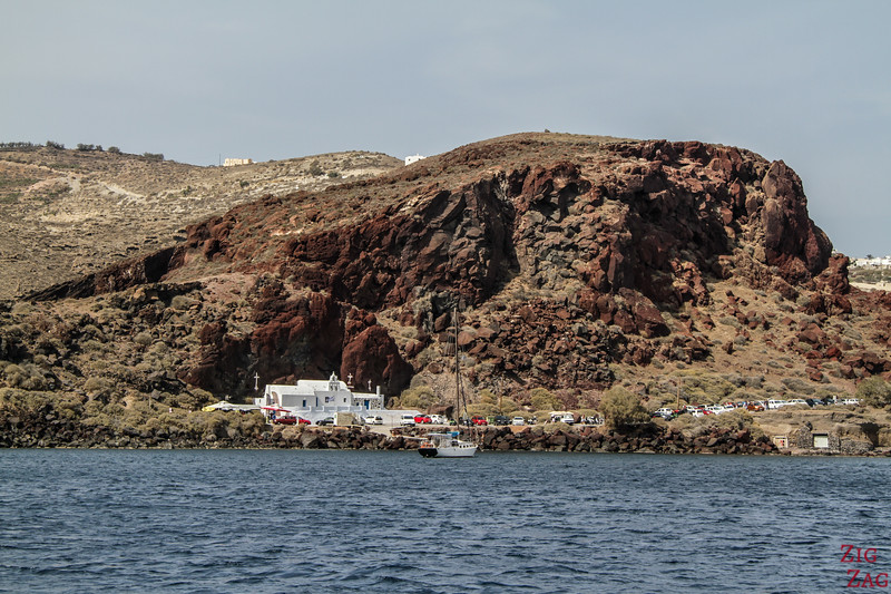 Red Beach by boat 4