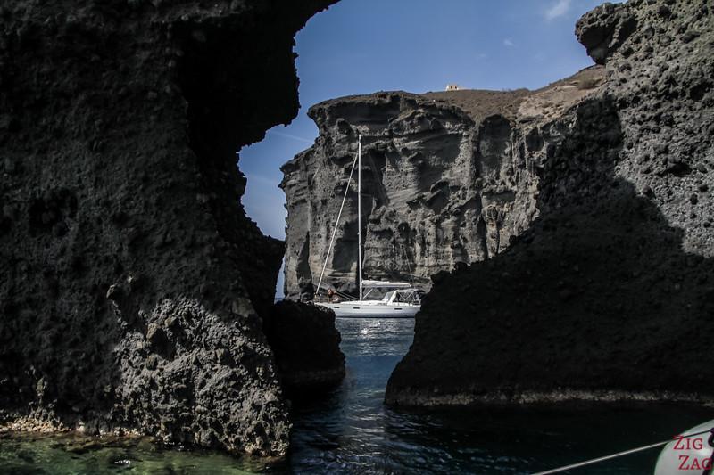 Tour en catamaran à Santorin - photo 6