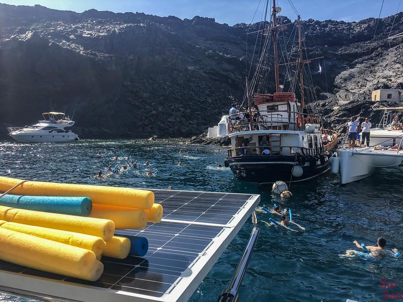 Tour en bateau Santorin 3