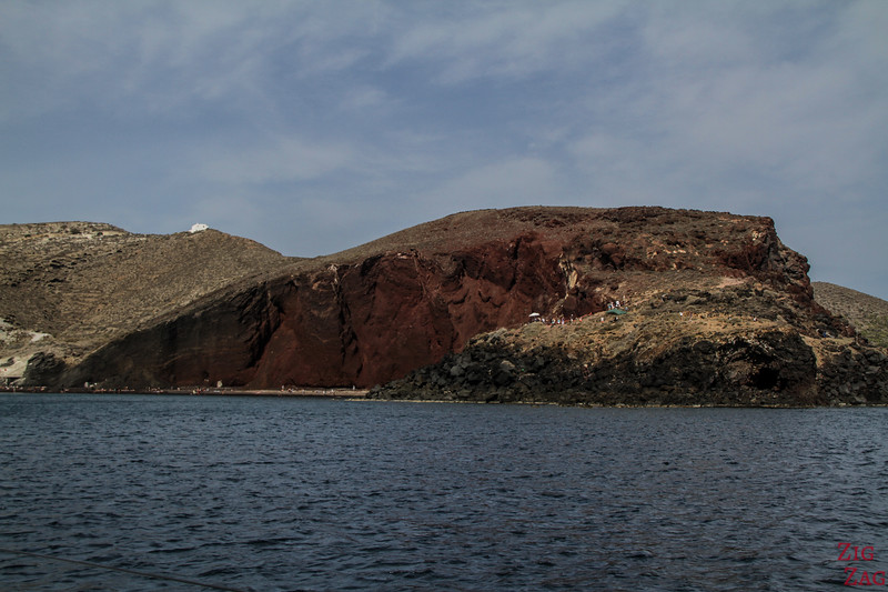 Red Beach by boat 3