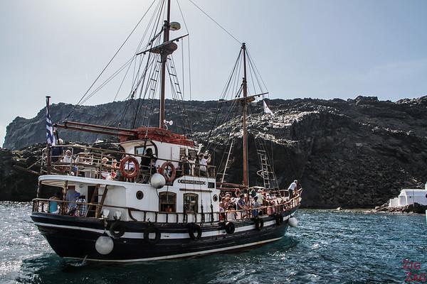 Tour en bateau Santorin 1