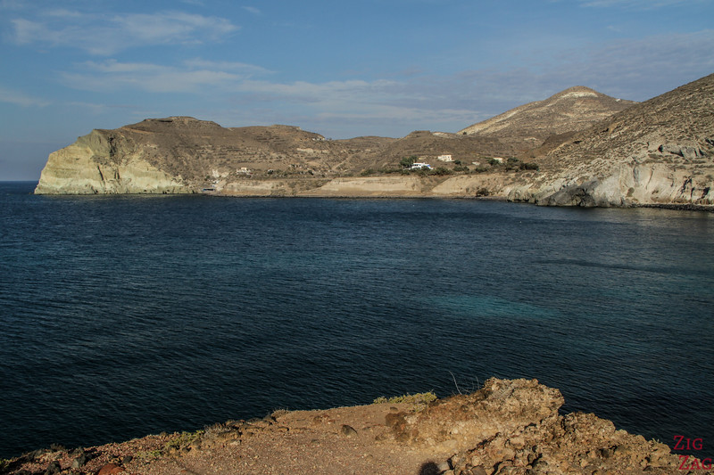 Santorini's Red Beach Viewpoint 2