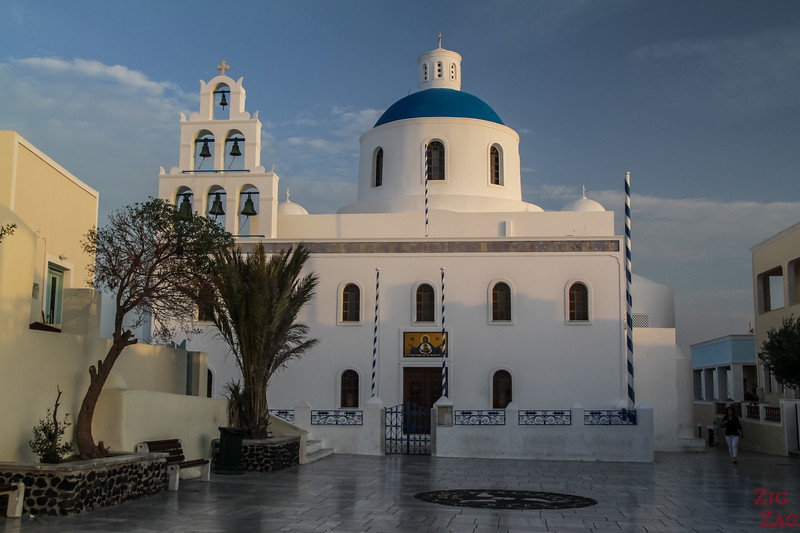 Main Oia church - Panagia Platsani