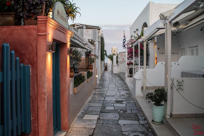 Conseil photo Santorin - Oia au lever du soleil