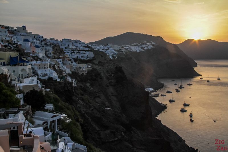 best things to do in Santorini - Oia sunrise
