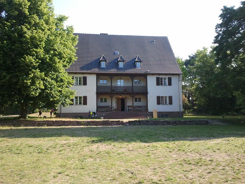 Hostellimme Fürstenbergissä