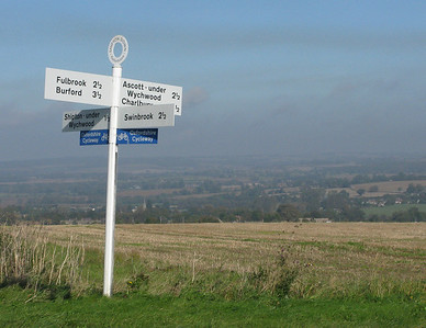 Cycling The Cotswold Way