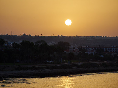 Sunrise over Ayia Napa