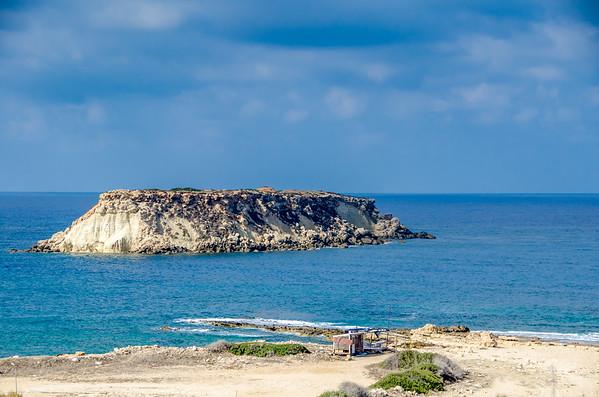 Rock near Agios Georgios  Pegeias