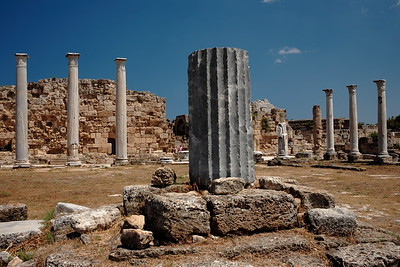 Ancient ruins, Salamis, Cyprus