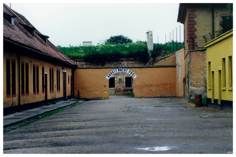 Why is it always cloudy when visiting Concentration Camps? Terezin.
