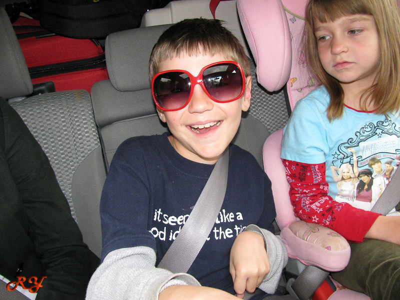 Bara's sunglasses