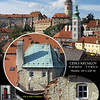 Cesky Krumlov. Mix of ancient and modern.. The modern is not too obvious inside the historic portion of the town.<br /> September 7, 2009