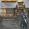 Wenceslas Square - National Museum and the statue of St. Wenceslas.<br /> Prague, September 4, 2009