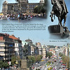 Wenceslas Square. Many historical events occured here.<br /> Prague, September 4, 2009