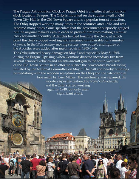 The story of the Astronomical clock at Old Town Square, Prague.