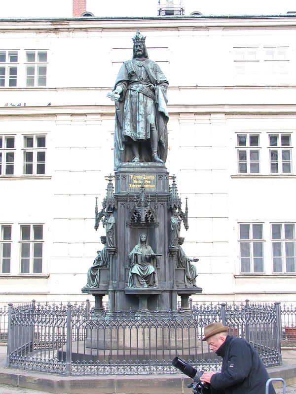 Charles IV, the Holy Roman Emperor.
