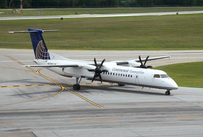 August 2008 at Burlington Airport