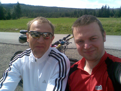 Biking Jizerske Hory with Bedrich