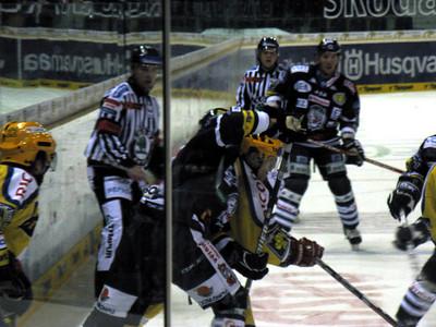 Bily Tygri vs. Zlin hockey game in Liberec.