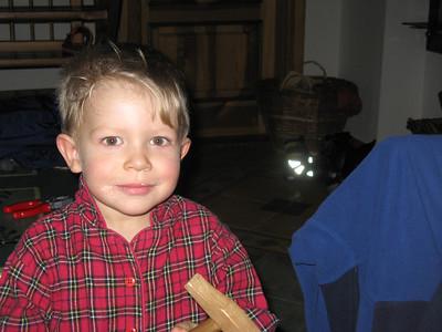 Jonas at Mackarna.