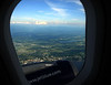 Shortly after takeoff from BTV.