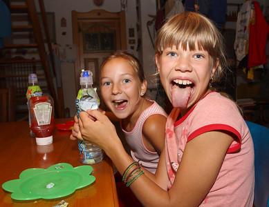 At Mackarna, summer 2010.