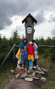 Hike to Smrk, the highest point of Jizera Mountains.