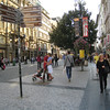 Prague - this area is near Wenceslas Square.  This area seemed to be much more crowded than other areas I toured.