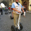 Prague - Preparing to embark on another Segway tour.  I had a lot of fun with these, and enjoyed it so much that I booked two tours in a row!