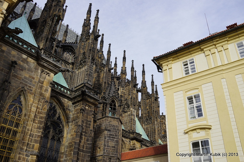 St. Vitus spires, it makes you want to become Catholic.