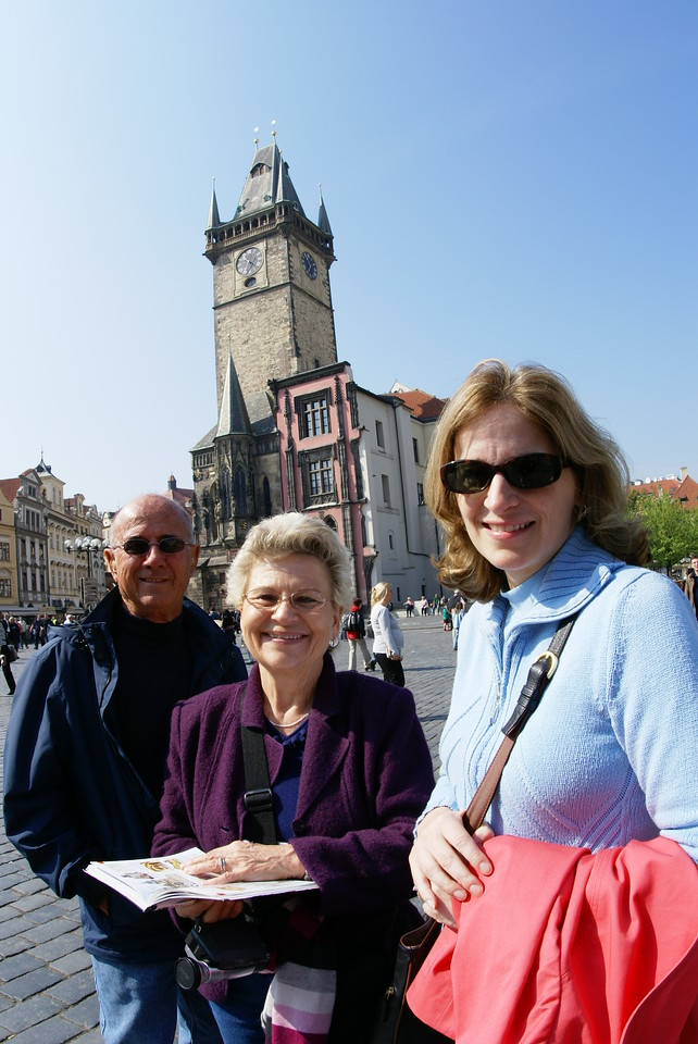 Day 2 in Prague.  We wandered through the city.