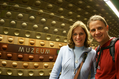 The walk was too far to the Nat. Museum so we switched to the subway.