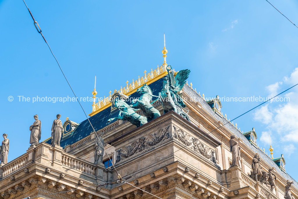 Prague NationalTheater Building