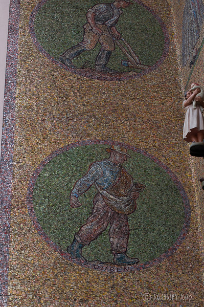 Astronomical Clock Detail: mosaic