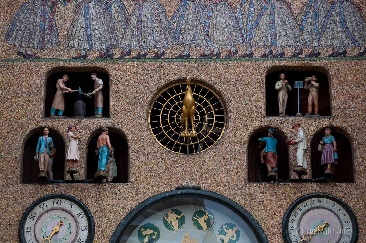 Astronomical Clock Detail: Upper