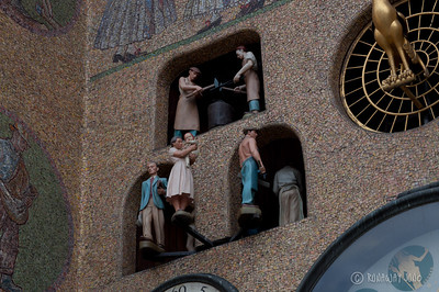Astronomical Clock Detail: People